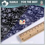 Tela impressa high-density do Poplin de algodão para a camisa da forma
