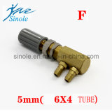 El agua dental del recambio de la unidad ajusta la válvula (17-04)