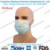 Maschera di protezione chirurgica a gettare approvata dalla FDA delle 3 pieghe con Earloop