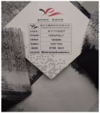 100% tela textil de poliéster, crepé de gasa, impresión de tela escocesa