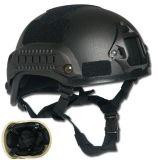 Type rapide matériel de Kevlar de certificat de Nij Iiia casque à l'épreuve des balles dans la couleur de Multicamo