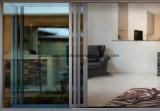 Шарниры конструкции Европ красивейшие алюминиевые складывая раздвижные двери