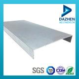 Mejor venta más nuevo de extrusión de aluminio anodizado con el perfil para el mercado de Filipinas