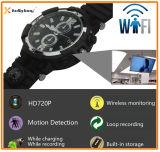 relógio remoto da câmera do monitor do relógio de 720p HD WiFi