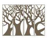 Neues modernes Holz geschnitztes dekoratives Panel
