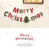 クリスマスの文字の装飾