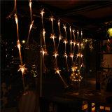 Свет шнура оптического волокна света занавеса СИД для праздника/украшения домашних/рождества