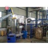 Haustier-Flaschen-Zerquetschung und Waschmaschine, die Maschine aufbereiten