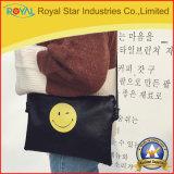 PUの微笑の表面が付いている革女性のショルダー・バッグの小さいハンドバッグ
