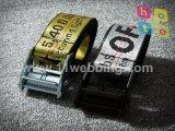 blanquecino Jacquard correa de nylon de fábrica personalizada