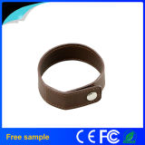 China Manufacter Gift USB Bracelet Leather Pen Drive (JL12)