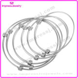 1.5mm Wire Expandable Wire Bangle Armband Mannen Vrouwen