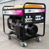 Schlüsselanfangskupferner Draht-beweglicher und leiser Benzin-Generator