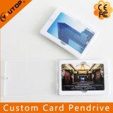 Cartão de crédito de marcagem com ferro quente feito sob encomenda Pendrive do logotipo com caixa dos PP (YT-3101)