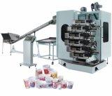 Пластичная печатная машина чашки, смещенная печатная машина (YQ/013-6)