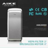AK2006H Máquina de secagem elétrica rápida ABS Secador de mão automático a alta velocidade a jato