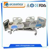 高度の5機能セリウムのFDA ISOの品質電気ICUの病院用ベッド(GT-BE5021)