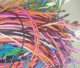 câble de remplissage de enroulement coloré de caractéristiques normales de la jupe USB 2.0 de bande pour des dispositifs de micro de la foudre USB C