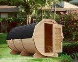 Neuer Entwurfs-moderner Zeder-Zylinder-Sauna-Raum (SR158)