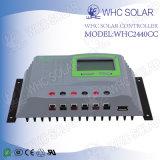 Sistema de energia solar 12V40A Controlador de carregador de bateria solar