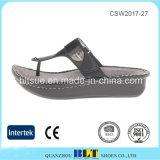 Chaussures en caoutchouc de santals de plate-forme d'Outsole de qualité de modèle neuf