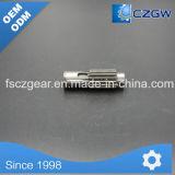 Gusano Reductor de acero inoxidable, piezas de mecanizado CNC