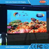 고품질을%s 가진 옥외 임대료 P5.95 LED 영상 벽