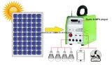 太陽動力を与えられたMP3プレーヤーFMのラジオ