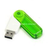투명한 USB Pendrive 기억 장치 지팡이 플라스틱 USB