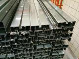 6063 perfiles de aluminio superficiales de la protuberancia de la puerta de T-5 Eletrophoresis con la certificación de Ce/TUV