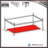 Алюминиевая ферменная конструкция коробки цены ферменной конструкции этапа для выставки