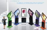 El panel del LCD del indicador digital/de la visualización de 43 pulgadas/jugador publicitario androide con dimensión de una variable de la rotación