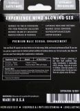 Rinoceronte de Bl4ck 3k píldoras sexuales masculinas del negro del realce de 30 paquetes