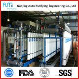 Installation de traitement d'osmose d'inversion de l'eau d'uF