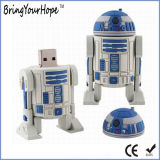 Movimentação do flash do USB do robô 8GB do Star Wars R2d2 (XH-USB-047)