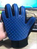 True перчатка холить любимчика Deshedding перста касания 5