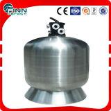 Верхн-Установите фильтр песка плавательного бассеина нержавеющей стали