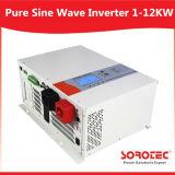 Inversor de saída de onda sinusoidal puro 1-12kw usado para ventilador elétrico