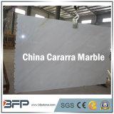 Plak van Carrara van het Zinkwit de Grote Marmeren voor de Tegels van de Vloer van de Badkamers