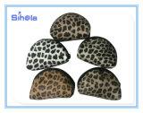 Sacchetto di cuoio della moneta dell'unità di elaborazione del leopardo