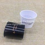 플라스틱 처분할 수 있는 컵 마시는 컵 황금 패턴은 인쇄했다