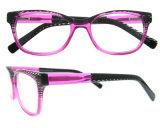 Nuevo marco de las lentes de la lente del acetato del marco de Eyewear de la manera