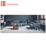 거실을%s 최상 회색 색깔 직물 소파 디자인