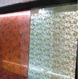Película decorativa, película de la tela, vidrio laminado,
