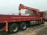 8*4 12 바퀴 XCMG 기중기 가격으로 거치되는 화물 트럭