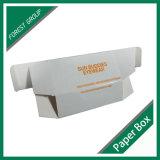 Caisse d'emballage blanche de papier ondulé de Matt (FP8039134)