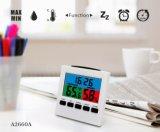Часы станции погоды индикации цвета с максимальным/минимальным Temp&Humidity