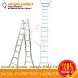 Scaletta dell'alluminio della scaletta di piegatura 2*8