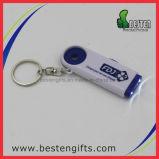 LED-Laufkatze-Münze Keychain, Laufkatze-Münze Keychain Schlüsselring, neuer kundenspezifischer Laufkatze-Einkaufswagen-Münzen-Schlüssel-Halter des Doppelt-LED