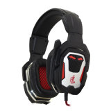 7.1 Canal Stereo Comfortable Gaming Headset con Metal